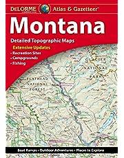 Delorme Montana Atlas & Gazetteer 10th Edition