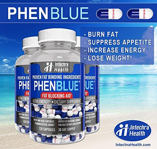 PHENBLUE® - Extreme Fat Blocker With Peak Energy Boost