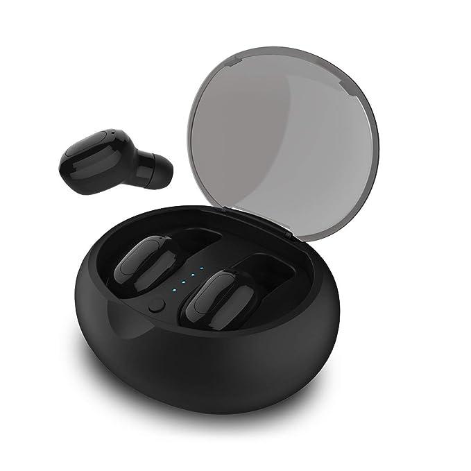 d702dd6dd3c KONSANY Best Bluetooth True Wireless Earbuds, HD Bass Stereo in-Ear Mini  Wireless Headset