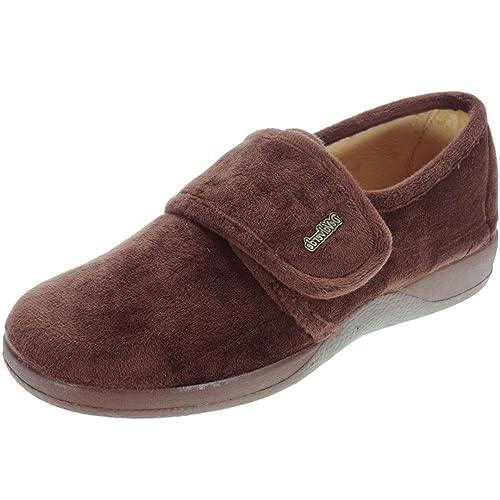 DeValverde 149 Zapatilla de Casa con Velcro para Mujer: Amazon.es: Zapatos y complementos