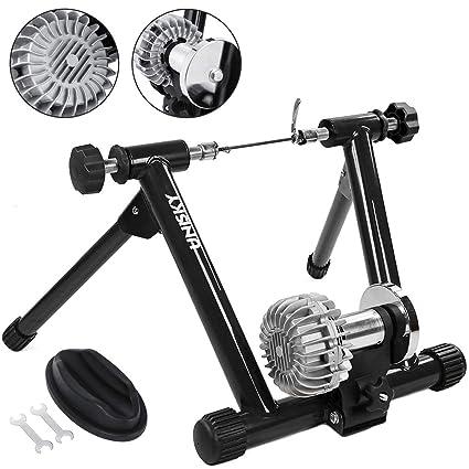 Fluid Bike Trainer >> Amazon Com Popsport Fluid Bike Trainer Stand 330lbs Indoor Bicycle