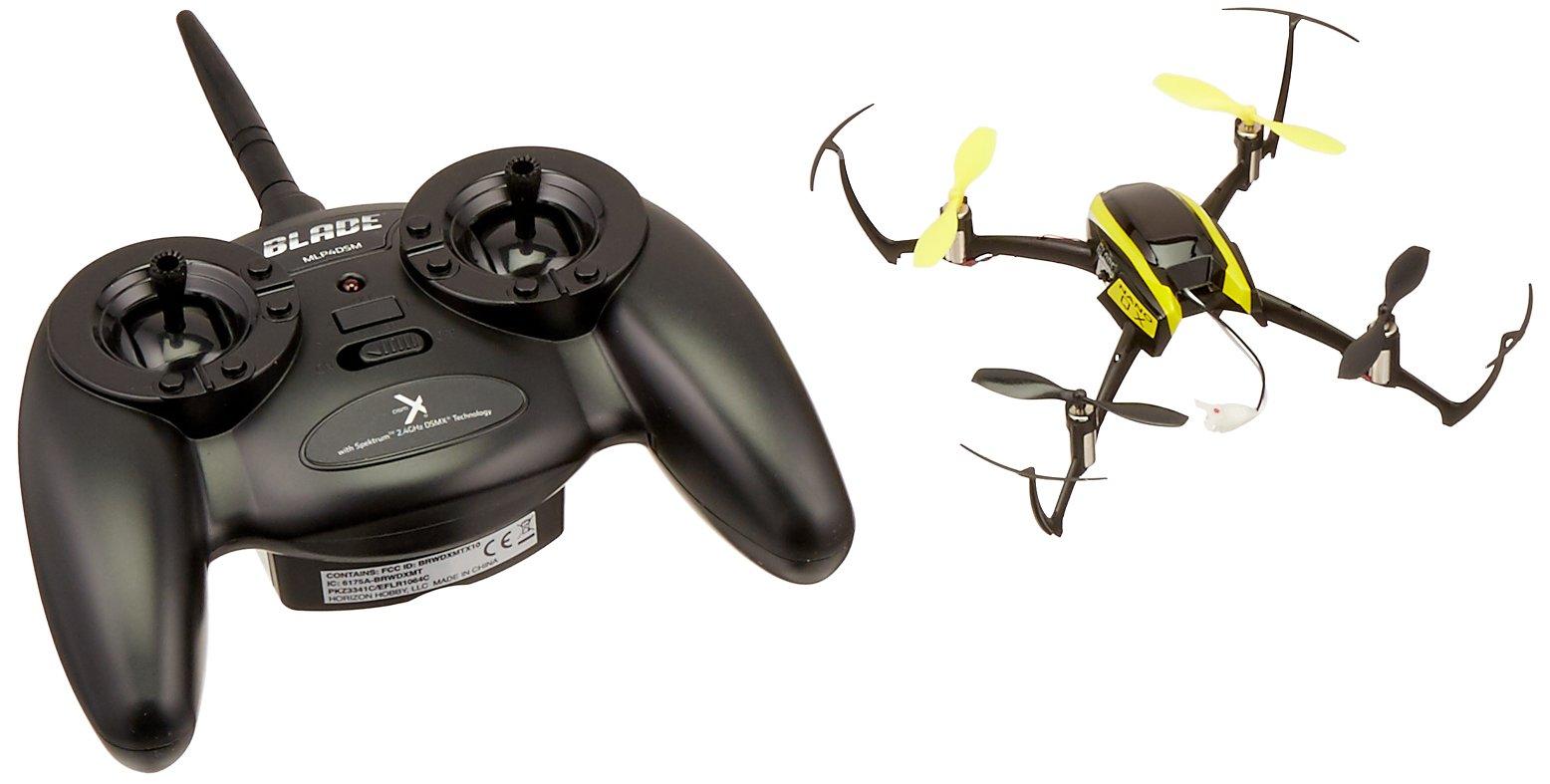 Blade Nano QX RTF Quadcopter with Safe Technology | 4-Ch DSMX Transmitter | 1S 150mAh 3.7V LiPo Battery & USB Charger