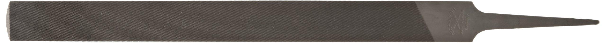 Nicholson Hand File (Boxed), American Pattern, Double Cut, Half-Round, Coarse, 16'' Length