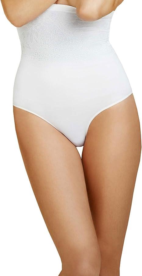 Body Wrap Shapewear White Superior Derriere High-Waist Panty 49510