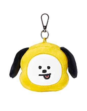 Line Friends x BTS Collaboration_BT21 CHIMMY Plush Head Keychain