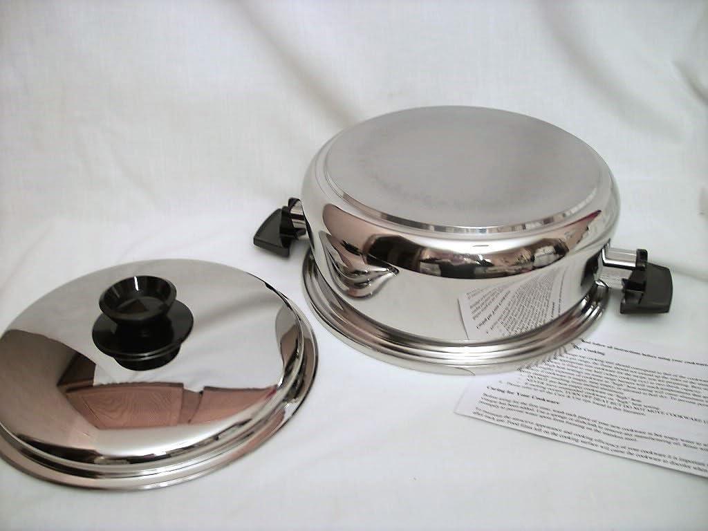 Compatibles plaques /à induction 4 Casseroles et 1 Po/êle VonShef Jeu de 5 Ustensiles en Aluminium Forg/é Anodis/é /— Int/érieur antiadh/ésif Faciles /à nettoyer