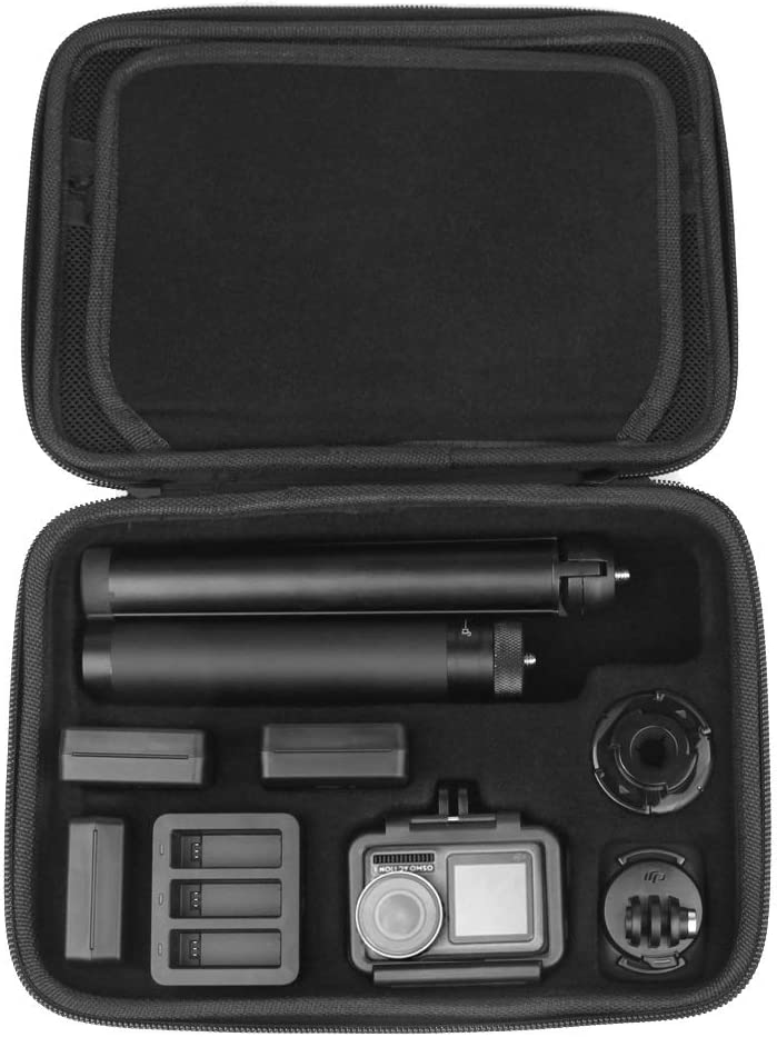 Shockproof Waterproof Portable Storage Box for DJI Osmo Action Size 24.5cm x 17.9cm x 6.0cm Durable