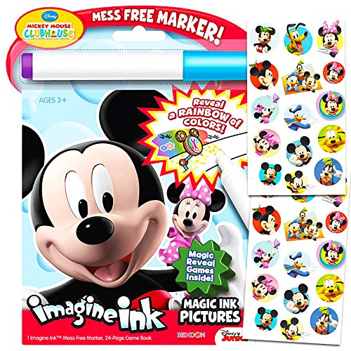 disney-mickey-mouse-clubhouse-imagine-ink-coloring-book-and-sticker-pack-set-includes-mess-free-mark