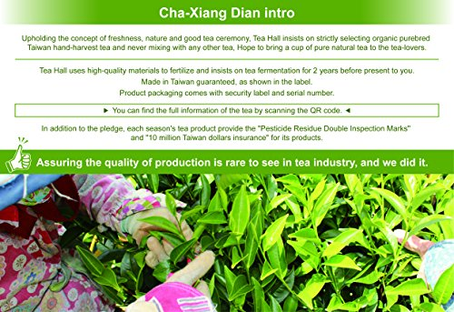 DING IN Alishan Oolong Tea Pine Box 10g10/box by Ding In ltd. (Image #3)