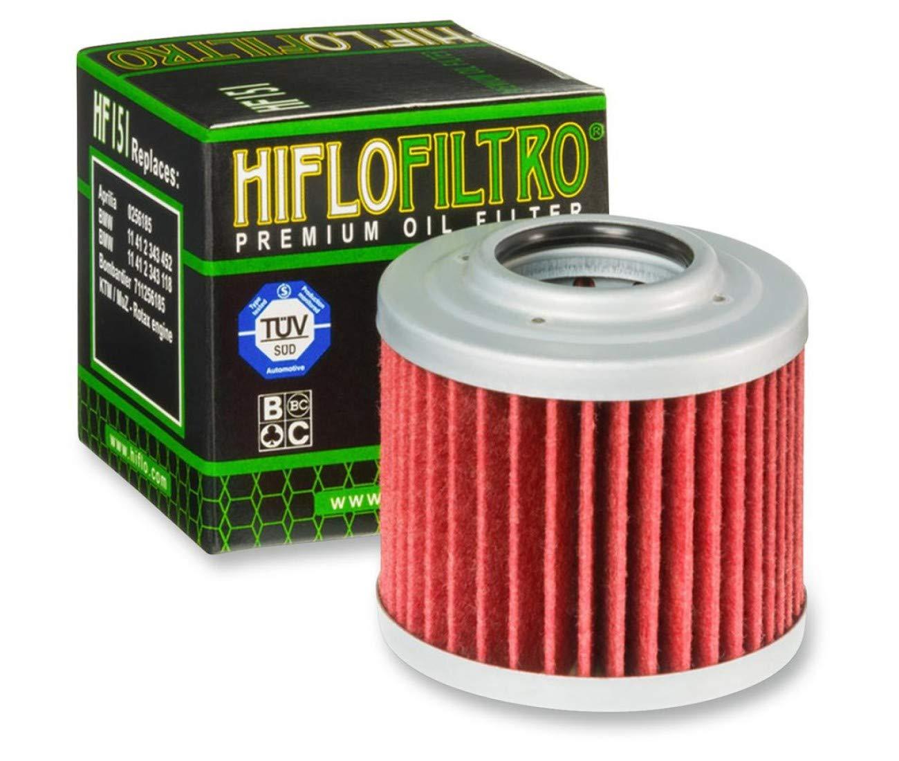 HF151 BMW Filtro de aceite para F650/F 650/Scarver CS GS ST G650