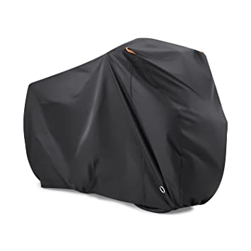 Bike Cover for 2 Bikes, Beeway 190T Nylon Waterproof Bicycle Cover Anti  Dust Rain UV