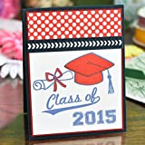 Graduation Clear Rubber Stamps for Scrapbooking and