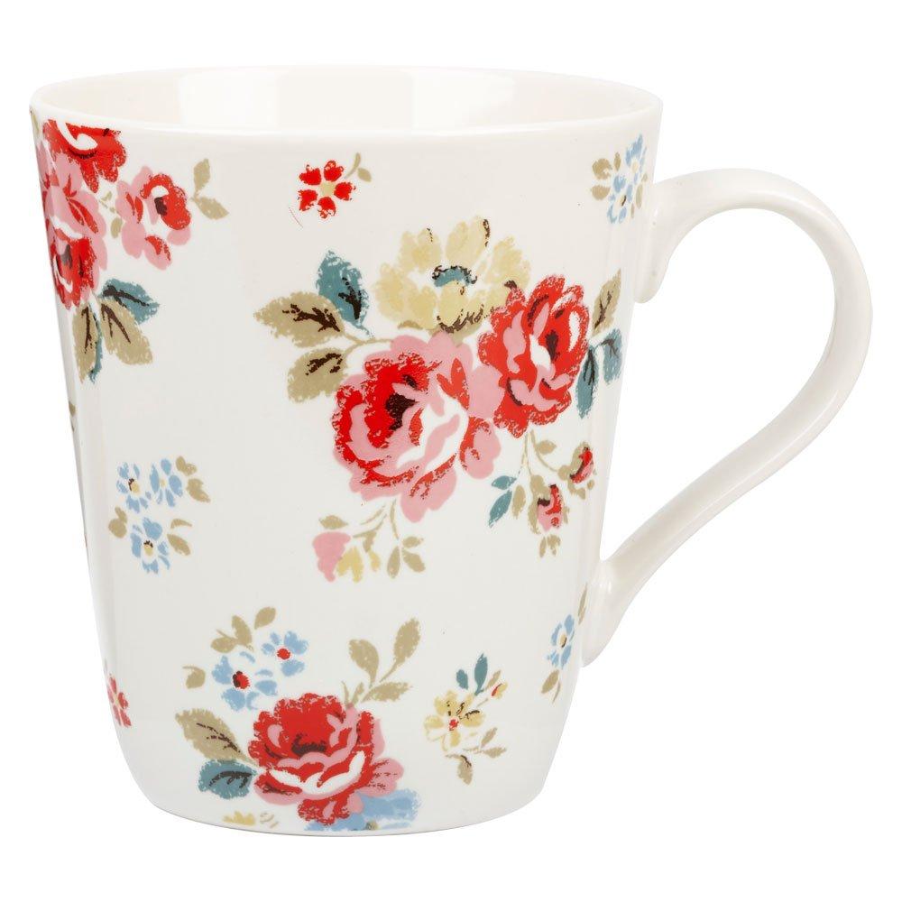 Cath Kidston 500 ml Fine China Mug, Field Roses: Amazon.co.uk ...