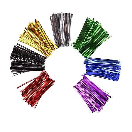 Selladores met/álicos de pl/ástico con alambre