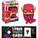 "Starfire as The Flash (Toys ""R"" Us Exclusive): Funko POP! x Teen Titan Go! Vinyl Figure + 1 FREE Official DC Trading Card Bundle (100816)"
