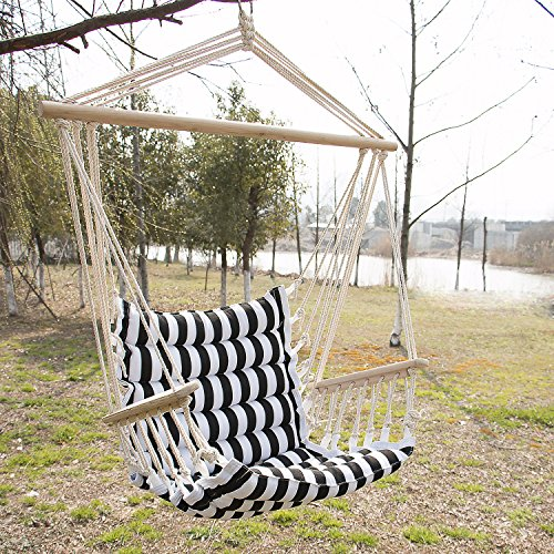 Homejoys Hammock Hanging Rope Chair Porch Swing Seat Outdoor Camping Portable Patio New by Homejoys