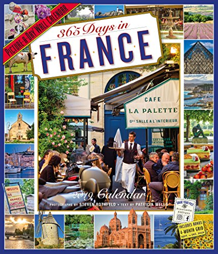 365 Days in France Picture-A-Day Wall Calendar 2019