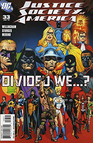 Justice Society of America (2nd Series) #33 FN ; DC comic book ()