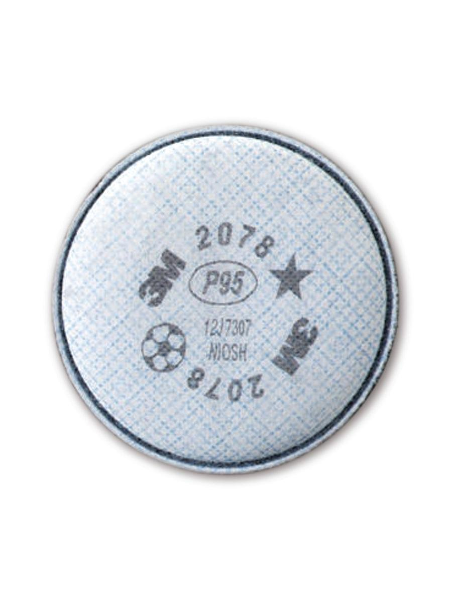 3M 50051138543681 Particulate Filter 2078, P95 (Pack of 2)
