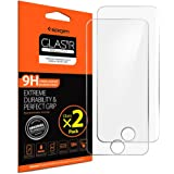 Spigen iPod Touch 6 / 5 Screen Protector Tempered Glass 2 Pack for Apple iPod Touch 6th Generation / iPod touch 5th Generation
