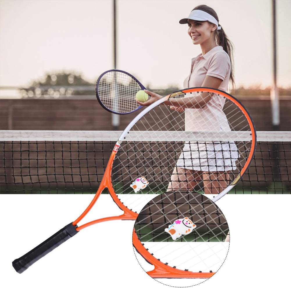 Animals Tennis Racket Damper Shock Absorber Anti-Vibration Soft Durable
