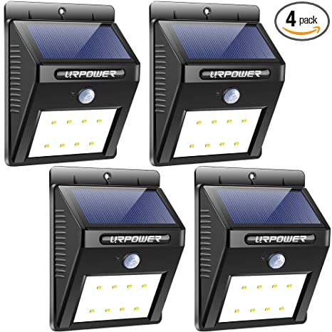 Amazon.com: URPOWER Luces Solares Inalámbrico Impermeable ...