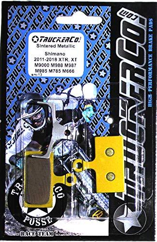 Truckerco Sintered Metallic Brake Pads Shimano 2011-2020 XTR XT SLX deore M9020 Trail M9000 Race M987 M985 M988 M785 RS785 R785 S700 RS685 M675 M666 M615 M610 CX F01A F03C G01A G03C G03s