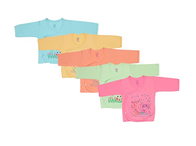 817b786f6 Jo Kids Wear Infant s Cotton Top Assorted Colour 0-3 months (Set Of ...