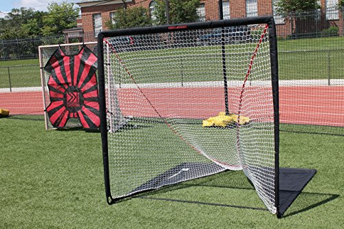 Rukket Rip It Portable Lacrosse Goal | Pop Up Lax Net for Backyard Shooting | Collapsible, Foldable, Travel Goals (4x4)