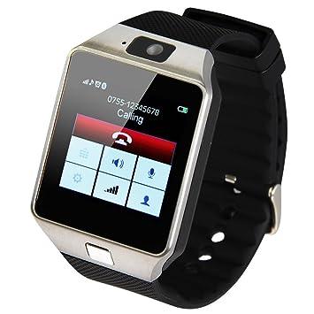DZ09 inteligente smartwatch-bluetooth para iPad/samsung/108/androide teléfono inteligente indossabili Reloj mobile syn PK GT08 GV18 sim: Amazon.es: ...