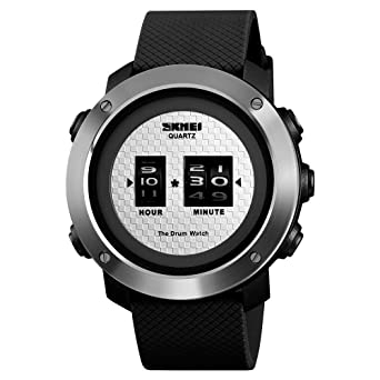 SKMEI Herren Analog Digital Elektronische Uhr Lässig Outdoor Sports Herrenuhr Stunde Minute Anzeige Uhren Relogio Masculino
