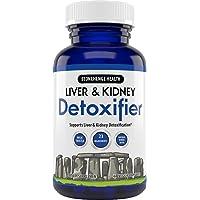 Stonehenge Health Liver & Kidney Detoxifier - Natural Max Strength Formula - Milk Thisle + Beet Root + Artichoke Extract + Dandelion + Chicory Root + Chanca Piedra + Yarrow (1 Month Supply)