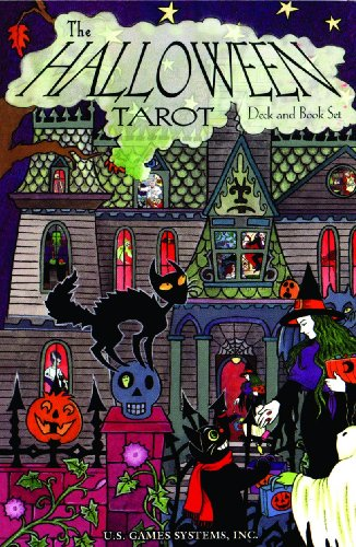 The Halloween Tarot Deck & Book Set: 78-Card Deck [With -