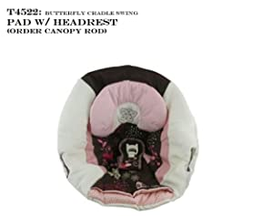 Fisher Price Cradle n Swing Replacement Pad (T4522 Butterfly Cradle Swing Pad)