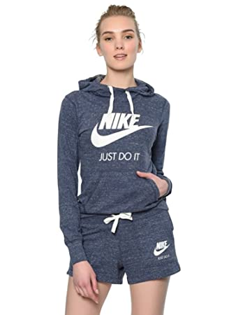 41f0e6e39859 Nike Gym Vintage Women s Hoodie with Full-Length Zip  Amazon.co.uk ...