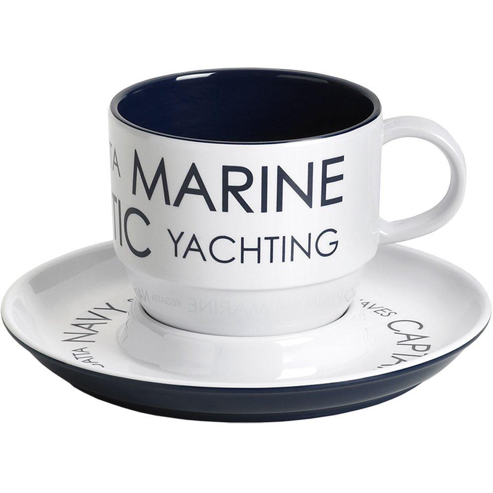 Marine Geschäft Kaffeetassen mit Untere 6 Stk. Stiefelshop in Bad Ischl Edition
