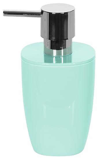 Spirella Pure Mint Seifenspender Badaccessoires Polystyrene 15 x 7.5 ...