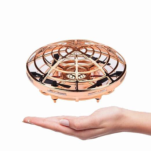 MUJING Mini Drone Flying Toy operado a Mano Drones para niños o ...