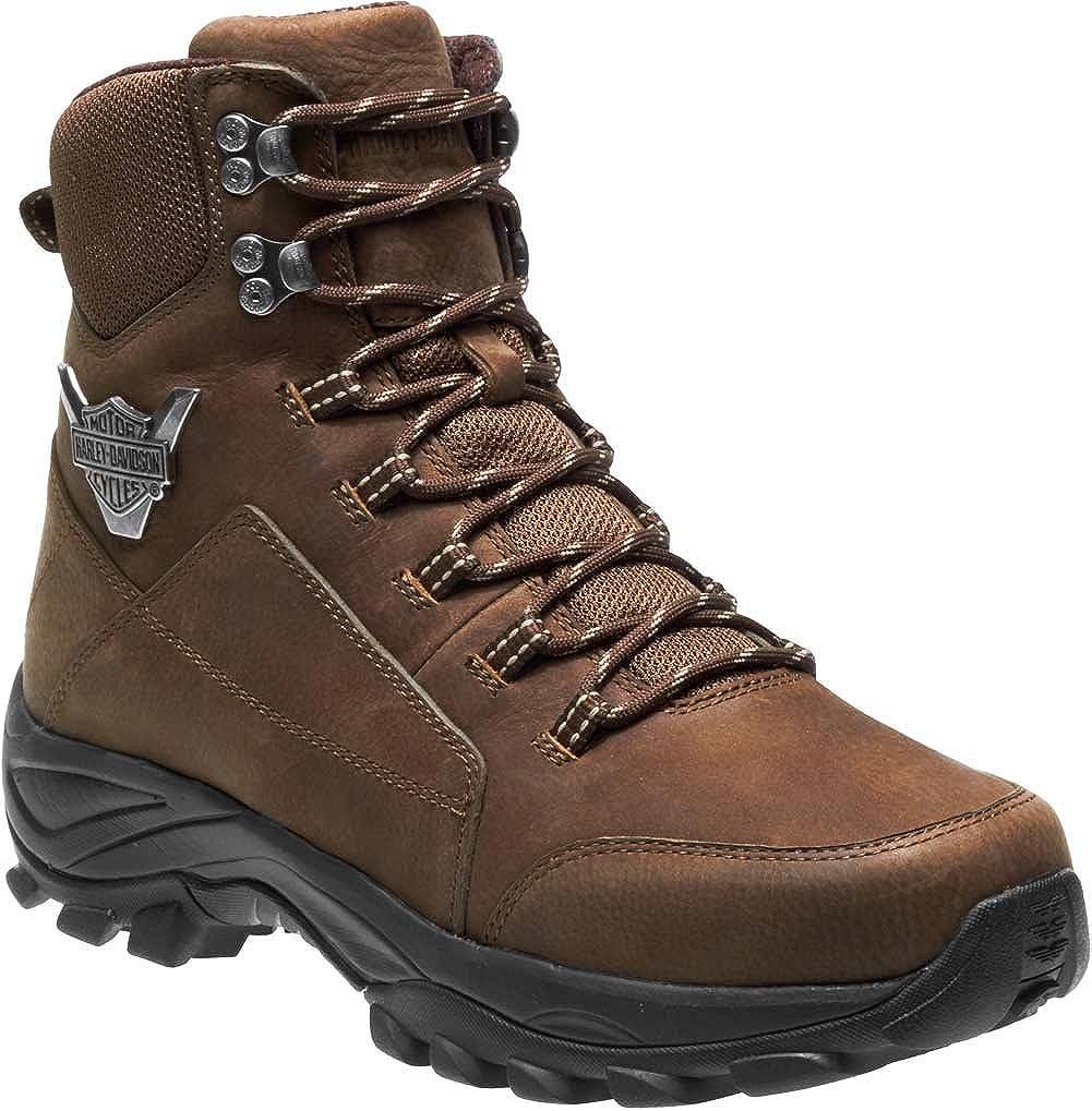 HARLEY-DAVIDSON FOOTWEAR Men s Gilmour Hiking Boot, Brown, 11.5 Medium US