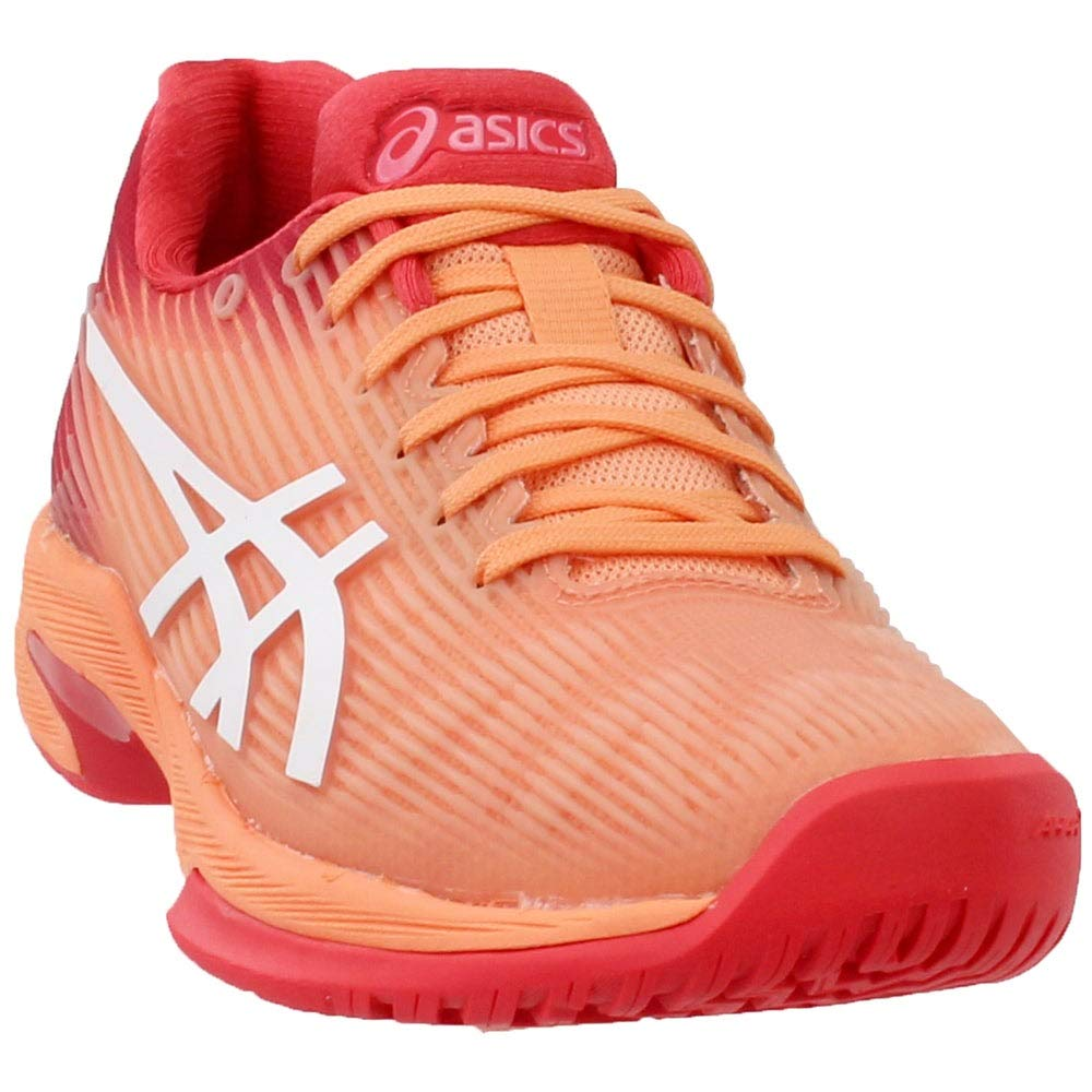 ASICS Women's Solution Speed FF Tennis Shoes, Mojave/White, Size 5.5