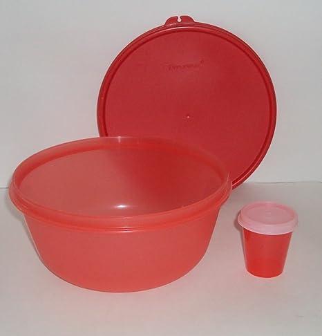 Tupperware - 6 1/4 taza cuenco ensalada conjunto Modular de sandía ...
