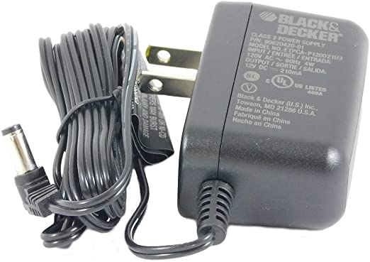 Black and Decker PD600 Replacement Charging Adaptor # 90500902-01