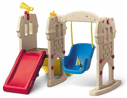 Amazon Com Little Tikes Swing Along Castle Toys Games