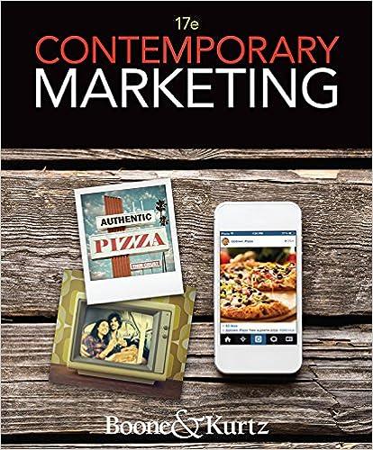 Contemporary Marketing Ebook