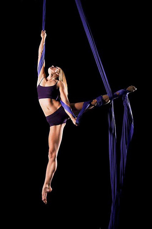 Giallo Antigravity Yoga Amacadi Yoga Amaca per Pilates Altalena Amaca Altalena Yoga Attrezzatura per danza aerea YOGA SWING Aerial Silks Amaca 10M