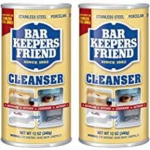 Bar Keepers Friend Powdered Cleanser & Polish | 12-Ounces | 2-Pack