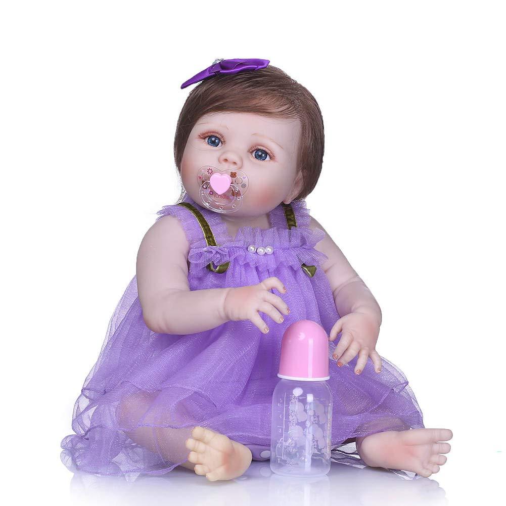 3c1d941d Coomir 56 cm / 22 Pulgadas realistas articulados renacer muñeca Suave de  Silicona recién Nacido bebé