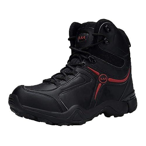 Zapatos Hombre Black Friday Casuales Invierno Hombres Botas Militares Táctico Desierto Barcos de Combate Zapatos al Aire Libre Barcos de Combate Botas: ...