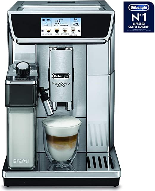 DeLonghi ECAM 650.75.MS Independiente Totalmente automática Plata ...