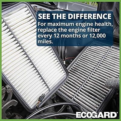 EcoGard XA10583 Premium Engine Air Filter Fits Chrysler Pacifica 2020-2020, Voyager 3.6L 2020: Automotive